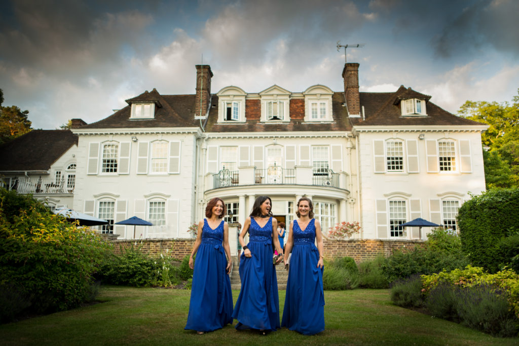 wedding photography gorse hill hotel woking surrey