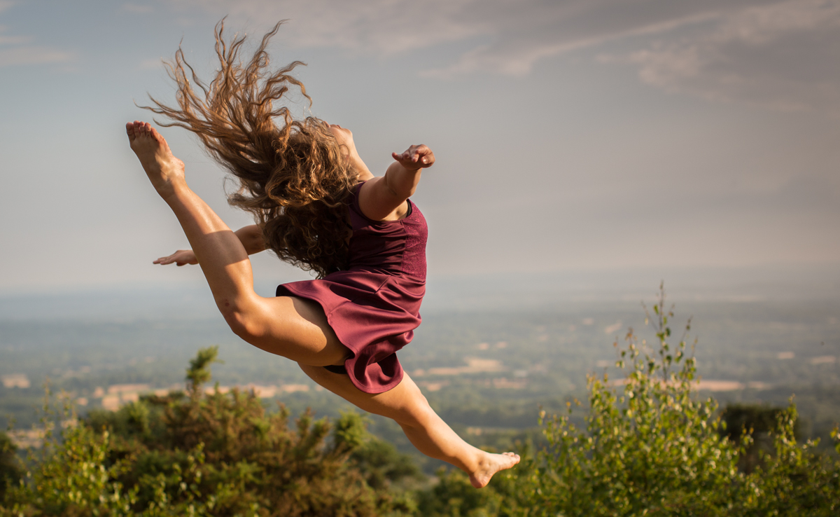 surrey dance photographer leith hill tower dorking